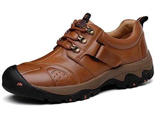 GJRRX Outdoor Off-Road Running Wandern Schuhe Trekking Camping Turnschuhe Lace-up Low-Top Sports Casual Footwear Wanderschuhe Herren Trekkingschuhe Rutschfeste und Verschleißfeste Wanderschuhe