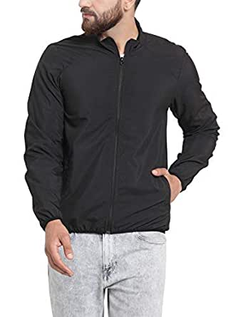 Scott International Men's Polyester I-Dry Signature Style All Weather Jacket (Black, Small)