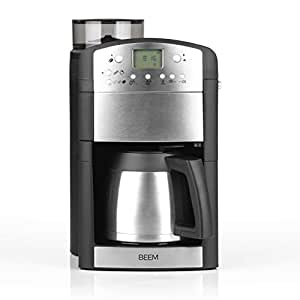 BEEM Germany Bean to Cup Filter Coffee Machine with Grinder and Timer 92C° 1000W Fresh-Aroma-Perfect Thermolux