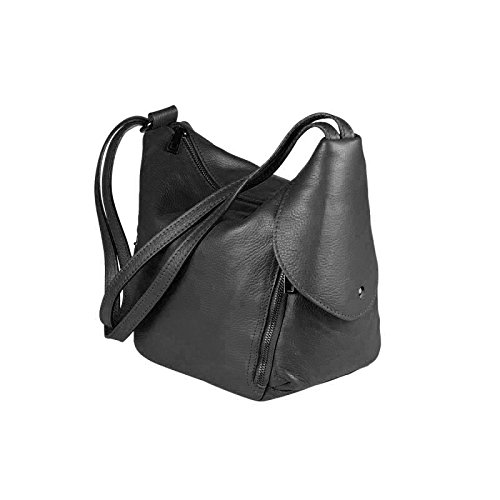 OBC Only-Beautiful-Couture, Borsa a zainetto donna marrone cognac ca.: 30x26x15 cm (BxHxT) nero