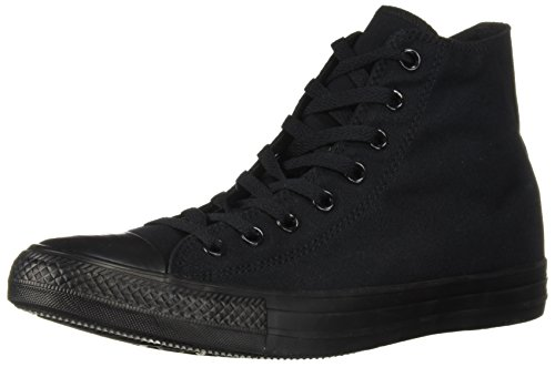 Converse Unisex Chuck Taylor Hi Basketball Shoe (6.5 D(M) US, Black Monochrome) (D-basketball)