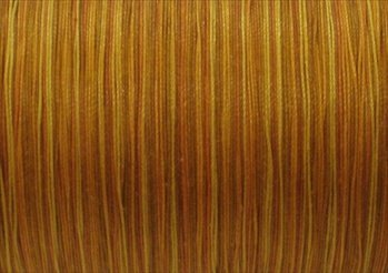 Price comparison product image YLI 21104-V88 Variegated Cotton Hand Quilting Thread, 400 yd, Gold by YLI