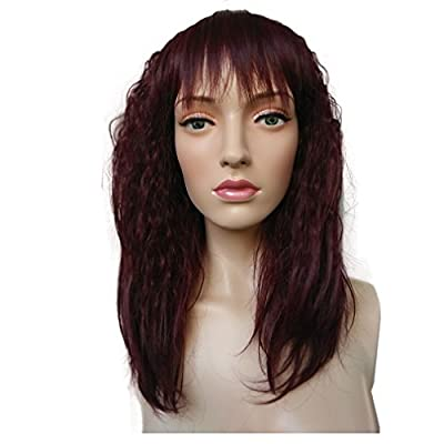 Namecute High Quality Kinky Wigs Kanekalon Synthetic Wig for Women+Free Wig Cap by Mos
