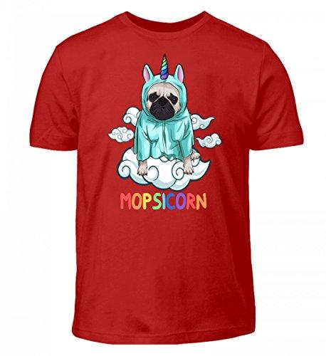 T-Shirt - Mopsicorn Süßer Mops IM Einhornkostüm (Mops Shirt Kostüm)