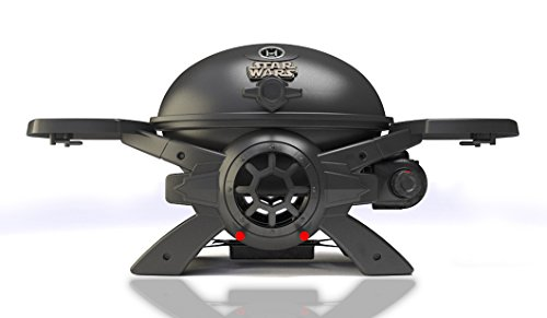STAR WARS TIE-Fighter Grill - BroilChef Premium Edition Gasgrill (Aluminium-guss-gas-grill)