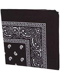 Zacs Alter Ego/® Black /& White Checkered Gingham Print Cotton Bandana