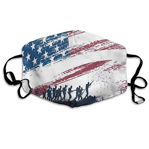 Benutzerdefinierte Mundmaske Anti-Staub-niedliche Eule in Santa Hut Gesichtsmaske atmungsaktive Maske mit verstellbarer Ohrschlaufe winddicht und warm Unisex14