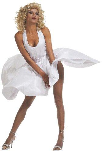 Widmann 35022 - Erwachsenenkostüm Marilyn, Kleid und Gürtel, Größe M (Marilyn Halloween-kostüm Monroe)