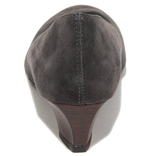 65515 decollete TOD'S ZEPPA grigio scarpa donna shoes women Grigio