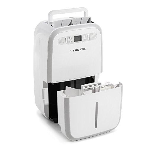Trotec TTK 95 E Deshumidificador (30 litros/24h) para habitaciones de 90 m² / 230 m³, Blanco