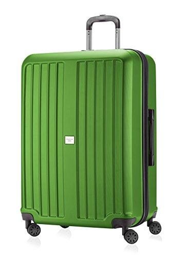 HAUPTSTADTKOFFER® 126 Liter (ca. 75 x 52 x 31 cm) · Hartschalenkoffer · XBERG HK-8280 · TSA Schloss · in verschiedenen Farben (Graphit) Apfelgrün