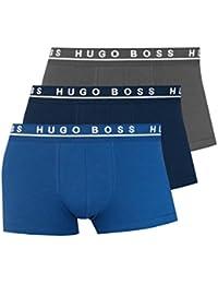 BOSS Hugo Boss Herren Retroshorts Boxer 3P BM 10146061 07, 3er Pack