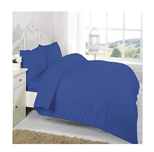 Islander Fashions Luxury 100% �gyptische Baumwolle Flache Bl�tter T200 Percale Count Flache Bettlaken Royal Oxford-Kissenbez�ge One Size