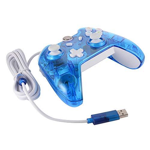 Controller mit Kabel, Fernbedienung, Video-Gamepad Joystick Joypad Xbox One Spielkonsole/Windows 7/8/10 PC Laptop Computer AC1515 ()