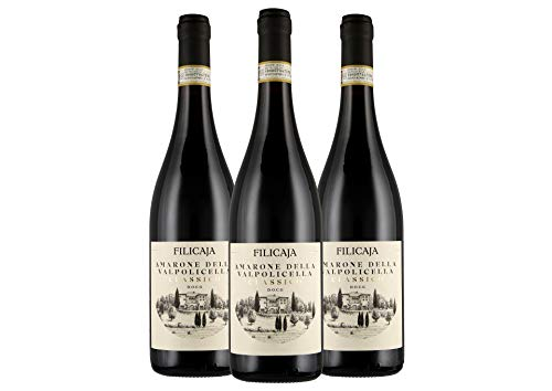 Amarone della Valpolicella Classico DOCG 2015 - Villa da Filicaja - 3 x 0,75 L