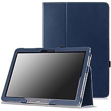 MoKo–Funda fina y plegable para Tablet Samsung Galaxy Note Pro 12.2, Tab 3Lite 7, Tab 47.0, Tab 48.0, Tab 410.1, Tab Pro 8.4, Tab Pro 10.1 azul añil para Galaxy Note Pro 12,2