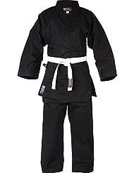 Blitz Sport Kids Traditional Jujitsu Suit - Black 0/130cm by Blitz