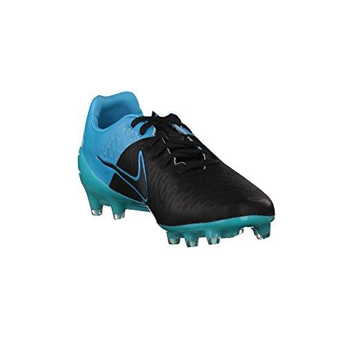 Nike Magista Opus Leather Black 768890 004 BLACK/BLACK-TRQS BLU
