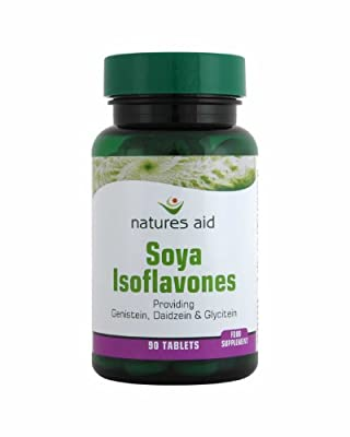(Pack of 10) Natures Aid - Soya Isoflavones 50mg 90 Tablet by Natures Aid
