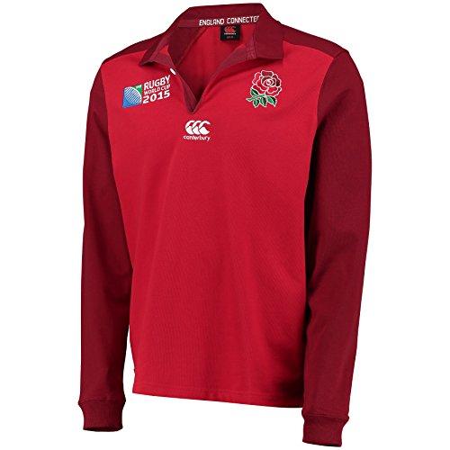 Canterbury England RWC 2015 Alternate Classic LS Rugby Top - AW15 - X - Gross