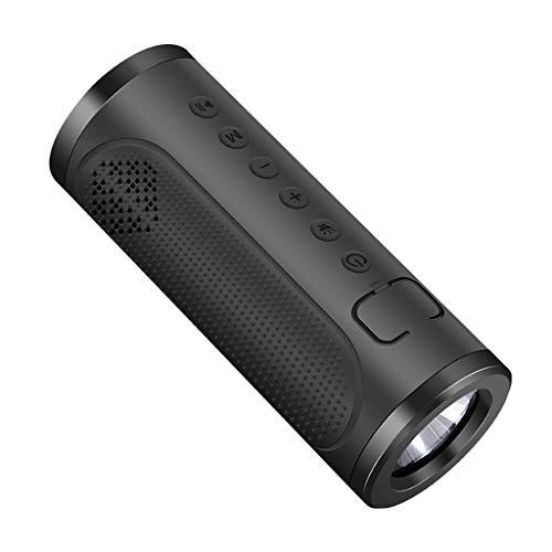 12shage Wireless Bluetooth Lautsprecher Leistungsstarker Wireless 360° Sound Bluetooth Speakers Wasserfest Stoßfest Mikrofon und Reinem Bass Reine Bluetooth