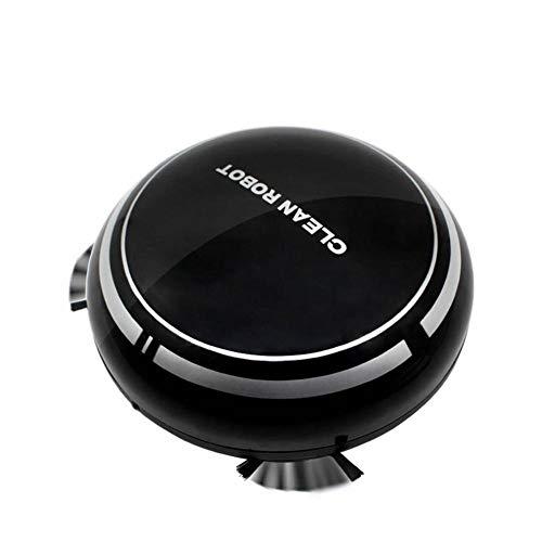 Aspiradora Inteligente, Aspiradora Robótica para Pisos Duros Y Alfombras, Mini Barredora De Carga USB para Uso Doméstico