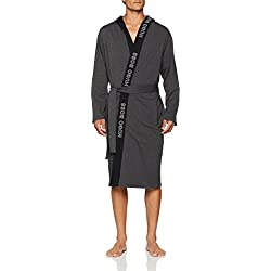 BOSS Identity Gown, Robe De Chambre Homme, Gris Grey 039, Medium