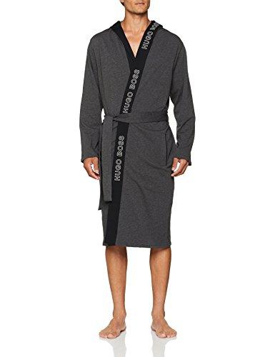 Gown Bademantel, Grau (Medium Grey 039), X-Large (Herstellergröße: XL) ()