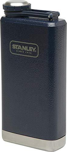 Stanley Adventure großer Flachmann, 0.23 L, 18/8 Edelstahl, Auslaufsicher, mit Deckelsicherung