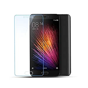 Plus Tempered Glass For Xiaomi Mi 5 Mi5 0.3 Mm Thickness/9H Hardness/2.5D Curved Edge/Reduce Fingerprint/ No Rainbow/ With Alcohol Wet Cloth Micro Fibre Dry Cloth/Premium