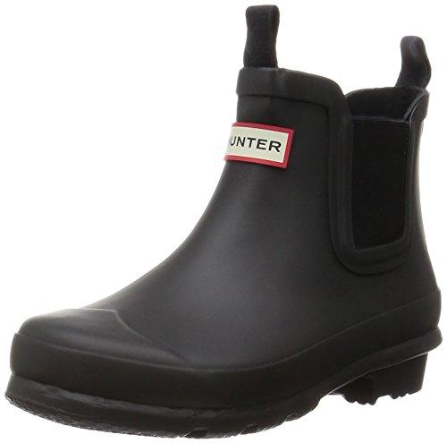Hunter Original Kids Chelsea Infant Black Rubber Wellingtons Boots Black