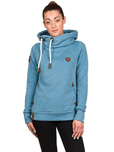 Naketano Damen Sweatshirt light blue melange