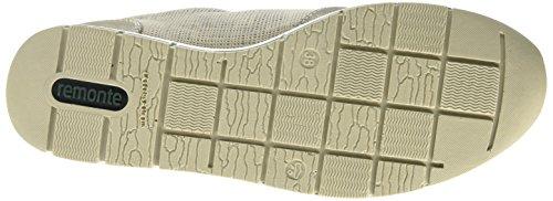 Remonte R4009, Baskets Basses femme Gris (murmel/silver/elefant / 42)