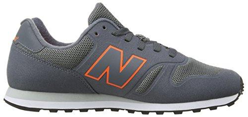 New Balance Md Wd373v1, Baskets Basses Homme Gris (Grey/Orange)