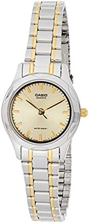 Casio LTP-1275SG-9ADF Stainless Steel Dress Watch For Women, Analog