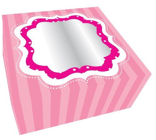 parfaitement Boîtes à cupcake rose - Lot de 2