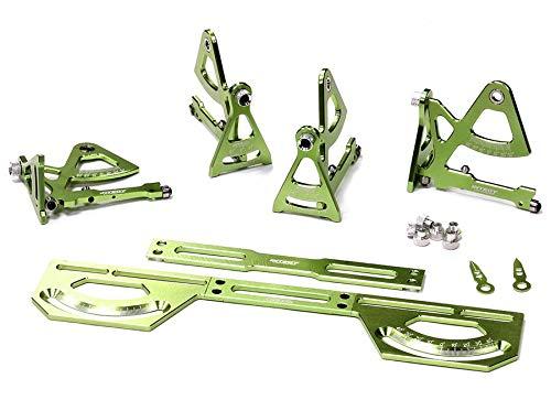 Integy RC Model Hop-ups C24014GREEN Universal Setup Station System for 1/16 Traxxas, Most 1/10 Touring Car & Drift Drift-station