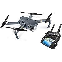 DJI - 190021280977 Mavic Pro Drone | Drone Quadricoptère Portable & Pliable avec Caméra | Offre 27-Min de Vol | Gimbal 3-Axis & Caméra 4K | Design Élégant | Photos & Vidéos en Haute Résolution