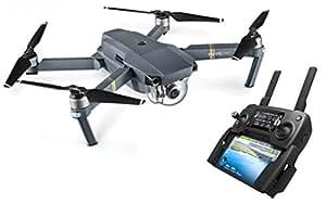 DJI Mavic Pro Drone | Drone Quadricoptère Portable & Pliable avec Caméra | Offre 27-Min de Vol | Gimbal 3-Axis & Caméra 4K | Design Élégant | Photos & Vidéos en Haute Résolution