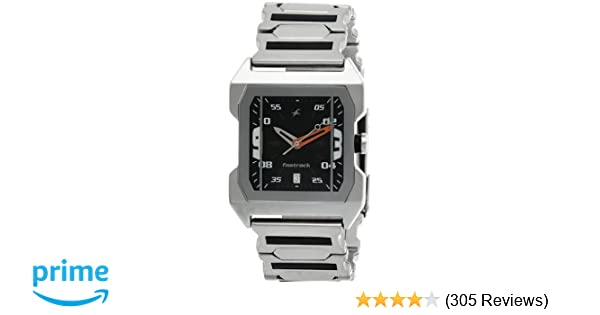80ba88a6ec592f Buy Fastrack Party Analog Black Dial Men s Watch -NK1474SM02 Online at Low  Prices in India - Amazon.in