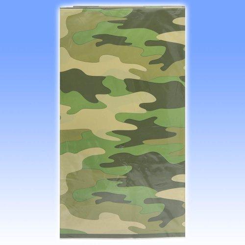Camouflage Tischdecke in Tarnfarben, ca. 137x213cm, abwischbar
