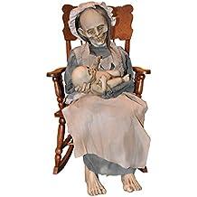 Zombie Granny con el bebé