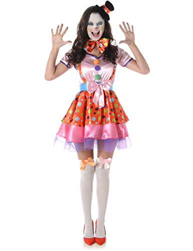 Costume da clown donna Large