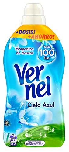comprar VERNEL Suavizante Concentrado Azul Botella 57 lavados