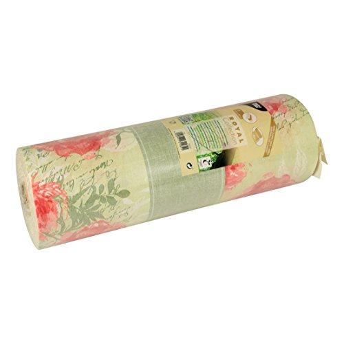 """Papstar, Tischläufer, stoffähnlich, PV-Tissue Mix """"ROYAL Collection"""" 24 m x 40 cm nektarine """"Provencal"""" auf Rolle, #86503"""