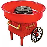 Machine à Barbe à Papa Rétro en Acier Inoxydable Cotton Candy Machine 220 v / 500 w Professionnel Vintage Cadeaux De…