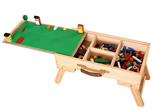 �t LEGO Kompatibel Lagerung Spielen Tisch Falten Nach Maß Holz Kinder Kinder SLFT Standard Tafel (Holz-spiel-tisch)