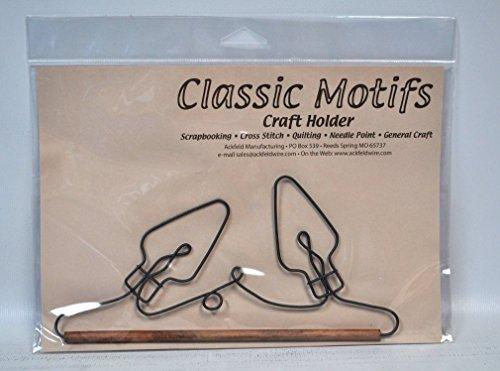 Classic Motive 19,1cm Christmas Lights Craft Halterung