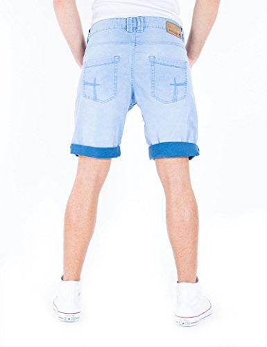 Timezone Herren Shorts Slim Stevie Shorts Blau (Biarritz 3791)