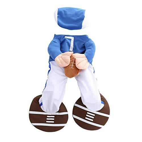 Hunde Baseball Kostüm - MSSJ Lustiger Hund Katze Kostüme Boxer, Arzt, Krankenschwester Cosplay Anzug Haustierkleidung Halloween Uniform Kleidung für Welpen Hunde Kostüm für eine Katze M Baseball-Spieler